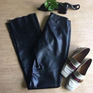 Wilsons Leather Pelle Studio Black Leather Pant